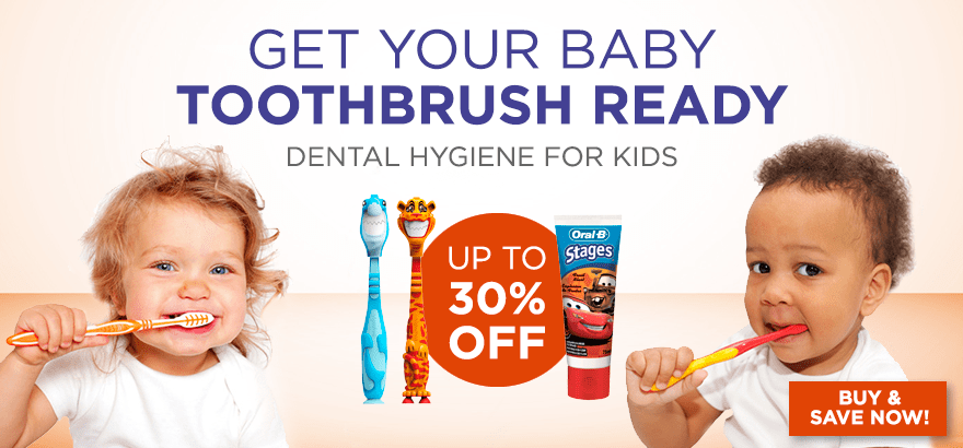 Kids toothpastes, Kids toothbrushes, Kids Mouthwashes