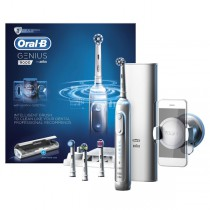 Oral-B Pro 9000 Genius White Electric Toothbrush main product image