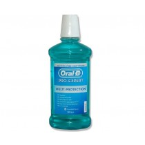 Oral-B Pro-Expert Multi Protection Alcohol Free Mouthwash 500ml