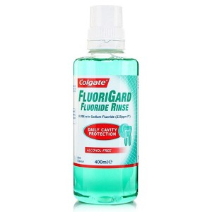 Colgate Fluorigard Alcohol Free 400ml Mouthwash