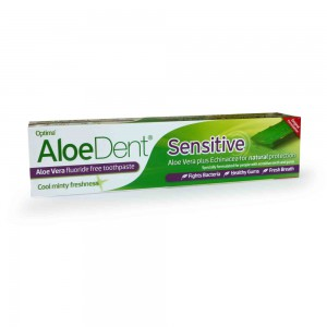 Aloe Dent Sensitive Fluoride Free Toothpaste 100ml