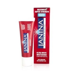 Janina Ultra White Maxiwhite Super Strength Whitening Toothpaste 75ml