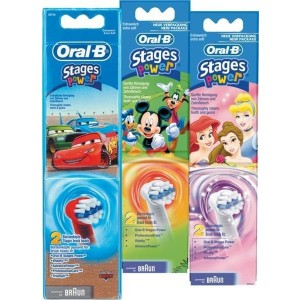 Oral-B Stages Power Kids Heads Twin Pack