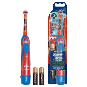 Oral-B Stages Power Cars Kids Battery Toothbrush