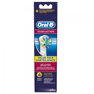 Oral-B Floss Action Replacement Heads 4's